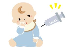 予防接種・乳児健診のイメージ